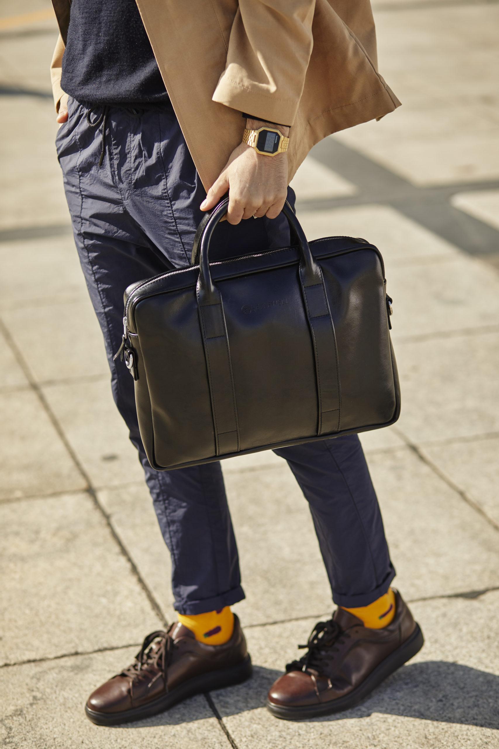 Skórzana torba na laptopa LUXE Betlewski