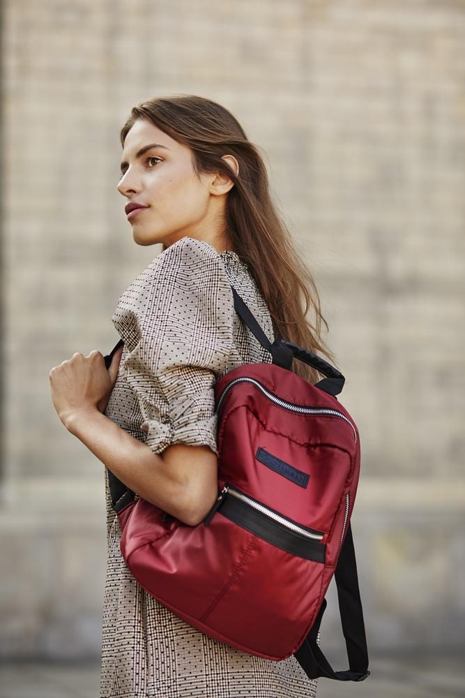 Plecak damski EPO w kolorze burgundowym