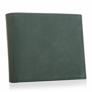 Zielony portfel męski ze skóry BPM-GR-5