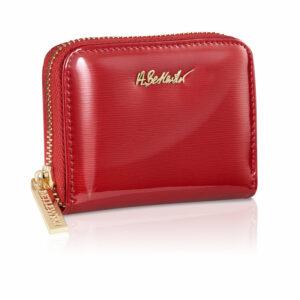 Mały portfel damski na karty BPD-BS-1044 - Czerwony