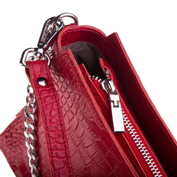 Czerwona torebka damska TWB-KRO-10-RED