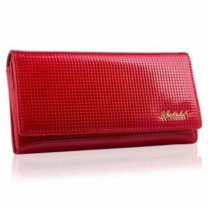 Czerwony portfel damski DOTTY BPD-DT-100