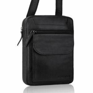 Skórzana torba męska mała na ramię TBS-306 DDDM