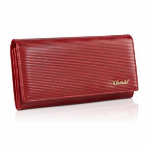 Czerwony portfel damski Betlewski z kolekcji Palermo BPD-PA-100