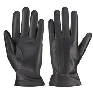 Rękawiczki skórzane czarne GLM-BG-2M