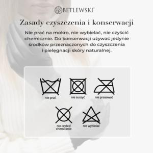 Zasady czyszczenia rękawiczek skórzanych - Betlewski